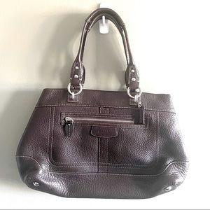Vintage Coach Soft Brown Shoulder Bag